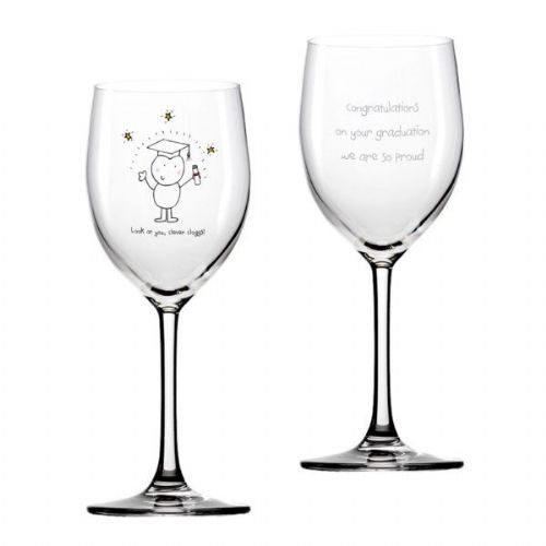 Chilli & Bubbles Graduation Wine Glass